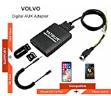Volvo Stereo AUX Adapter, Digital Car Audio Input Interface with SD Card, MP3 USB, 3.5mm AUX in, Music Player for Volvo All Models SC-XXX Series 1994-2006 (M06-VOLSC)