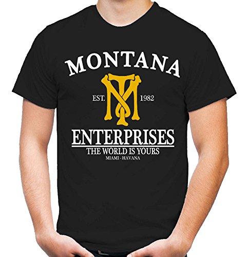 Montana Enterprises T-Shirt   Mafia   Tony   Scarface   Al Pacino   Cocaine