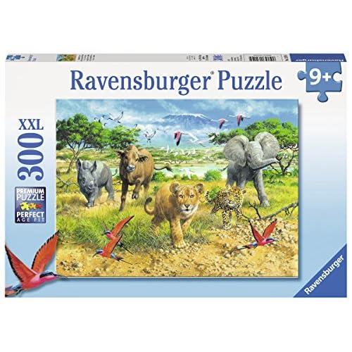 Ravensburger 132195 - Puzzle Bébés Animaux D'Afrique 300 Pièces