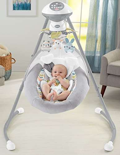 Fisher-Price-Sweet-Snugapuppy-Dreams-Cradle-n-Swing-White