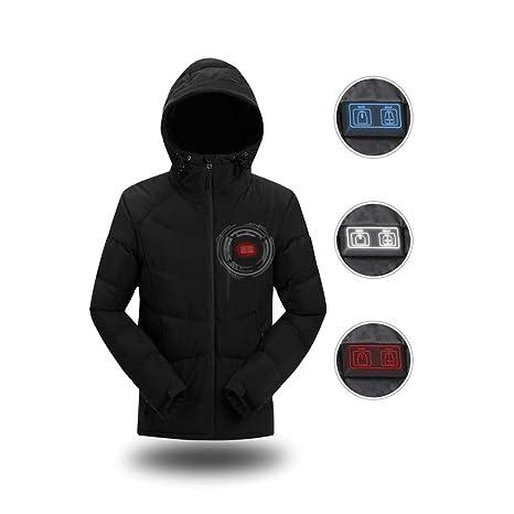 DZX Ropa De Abrigo Eléctrica/Chaqueta De Calefacción para Hombres, con Cable USB -