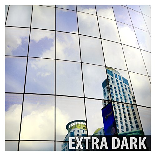BDF S05 Window Film Daytime Privacy One Way Mirror Silver 5 (36in X 12ft) Mirror Privacy Window Film