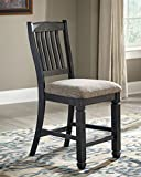 Cheap Ashley Furniture Signature Design – Tyler Creek Counter Height Bar Stool – Black/Gray