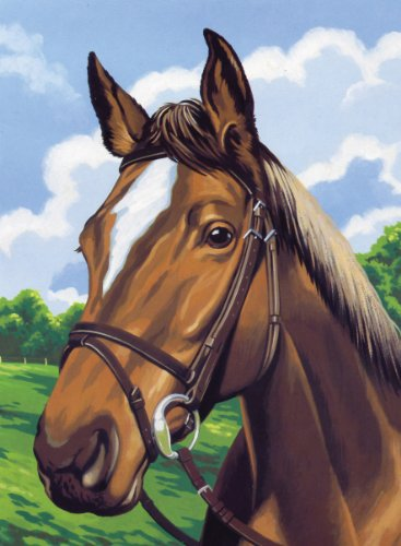 Reeves Medium Painting By Numbers - Horse's ()