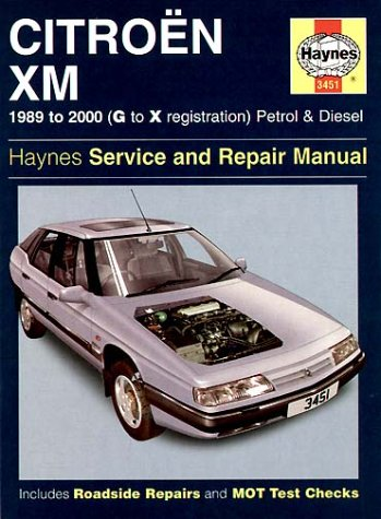 Citroen XM Service and Repair Manual (Haynes Service and Repair Manuals)