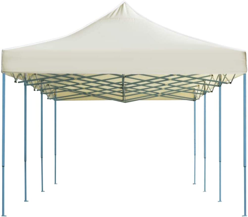 vidaXL Carpa Plegable Pop-up 3x9m Crema Toldo Cenador Marquesina ...