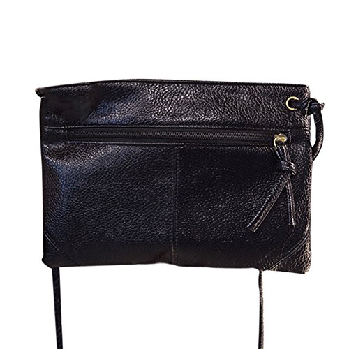 Remeehi , Borsa Messenger  nero Black