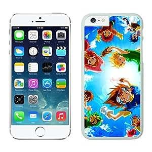 NEW DIY Unique Designed Case For Iphone 6 Digimon Desktop iphone 6 White 4.7 TPU inch Phone Case 119