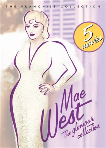 DVD : Mae West: The Glamour Collection (Full Frame, Slipsleeve Packaging, , Dolby, 2 Disc)
