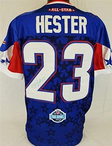 Devin Hester Autographed Signed Authentic Reebok 2007 Pro Bowl Jersey - JSA ()