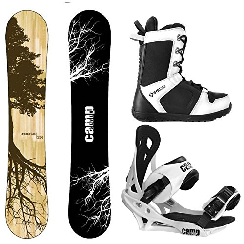 Camp Seven Roots CRC and Summit Men's Complete Snowboard Package New