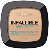 Loreal Face Powder L'Oreal Paris Cosmetics Infallible Pro Glow Powder, Creamy Natural, 0.31 Ounce