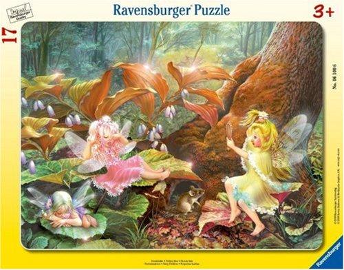 Ravensburger 06100–Fata bambini–8–17pezzi puzzle con cornice
