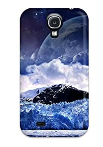 Excellent Galaxy S4 Case Tpu Cover Back Skin Protector Landscape Cgi Abstract Cgi
