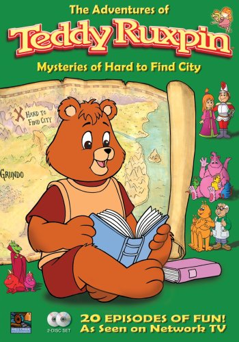The Adventures of Teddy Ruxpin: Mysteries of Hard to Find City (Teddy Ruxpin Grubby)