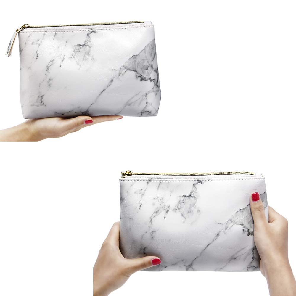 Amazon coupon code for Marble Makeup Bags