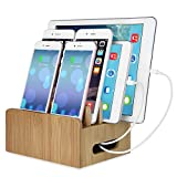 Eco Friendly Bamboo Multi Port USB Charging station