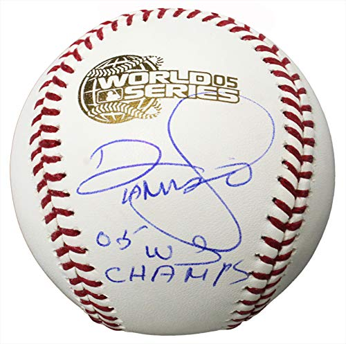 - Damaso Marte Signed Rawlings Official 2005 World Series Baseball w/05 WS Champs