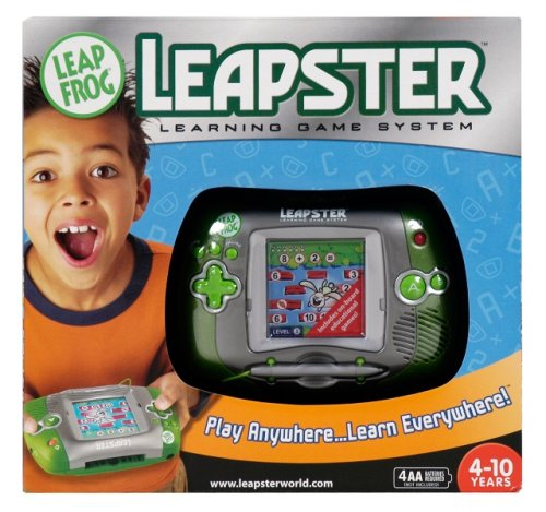 LeapFrog Leapster Learning Game System - Green