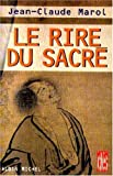 img - for Le Rire du sacr  book / textbook / text book