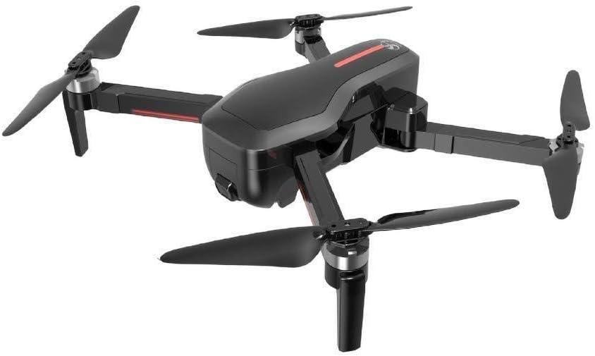 ADLIN Cámara avión no tripulado equipos WiFi FPV HD 720p, mejores aviones no tripulados Principiantes Con el mantenimiento de altitud, control de voz, GPS de posicionamiento, vuelo Trayectoria, tirone