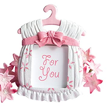 Amazon.com : Fashioncraft Cute Baby Themed Photo Frame, Girl : Baby ...
