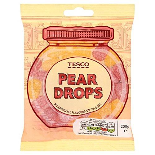 Tesco Pear Drops 200g