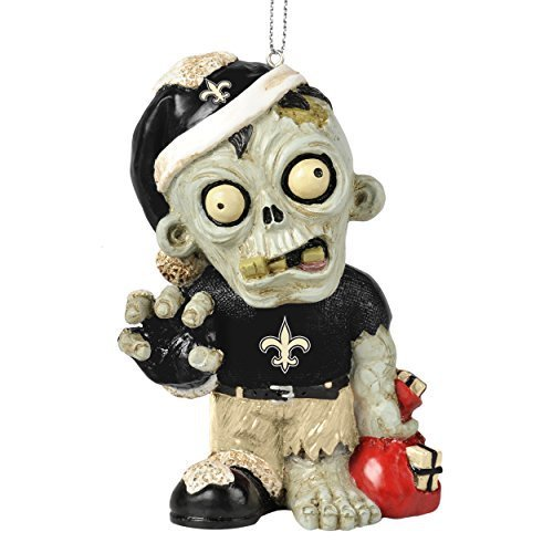 NFLZombie Christmas Hanging Ornament