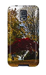 Galaxy S5 Case, Premium Protective Case With Awesome Look - Fall Season