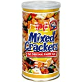Hapi Mixed Crackers Snack, 6-Ounce Cans (Pack of 5)