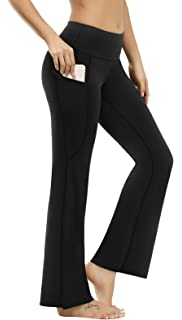 Amazon.com: Fengbay Bootcut Yoga Pants, Womens Bootleg Yoga ...
