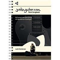 Justinguitar.com - Das Rock-Songbook: Noten, Sammelband für Gitarre