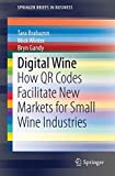 img - for Digital Wine: How QR Codes Facilitate New Markets for Small Wine Industries (SpringerBriefs in Business) book / textbook / text book