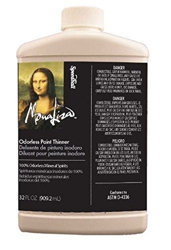 Mona Lisa Odorless Paint Thinner - 32 oz.