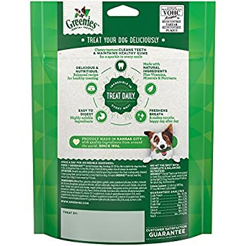 Greenies Dog Dental Chews Dog Treats – Regular Size (25-50 lb Dogs)