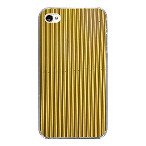 """Disagu Design Case Coque pour Apple iPhone 4 Housse etui coque pochette """"Blechoptik Gold"""""""