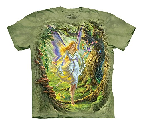The Mountain Men's Fairy Queen T-Shirt Children's, Green,...
