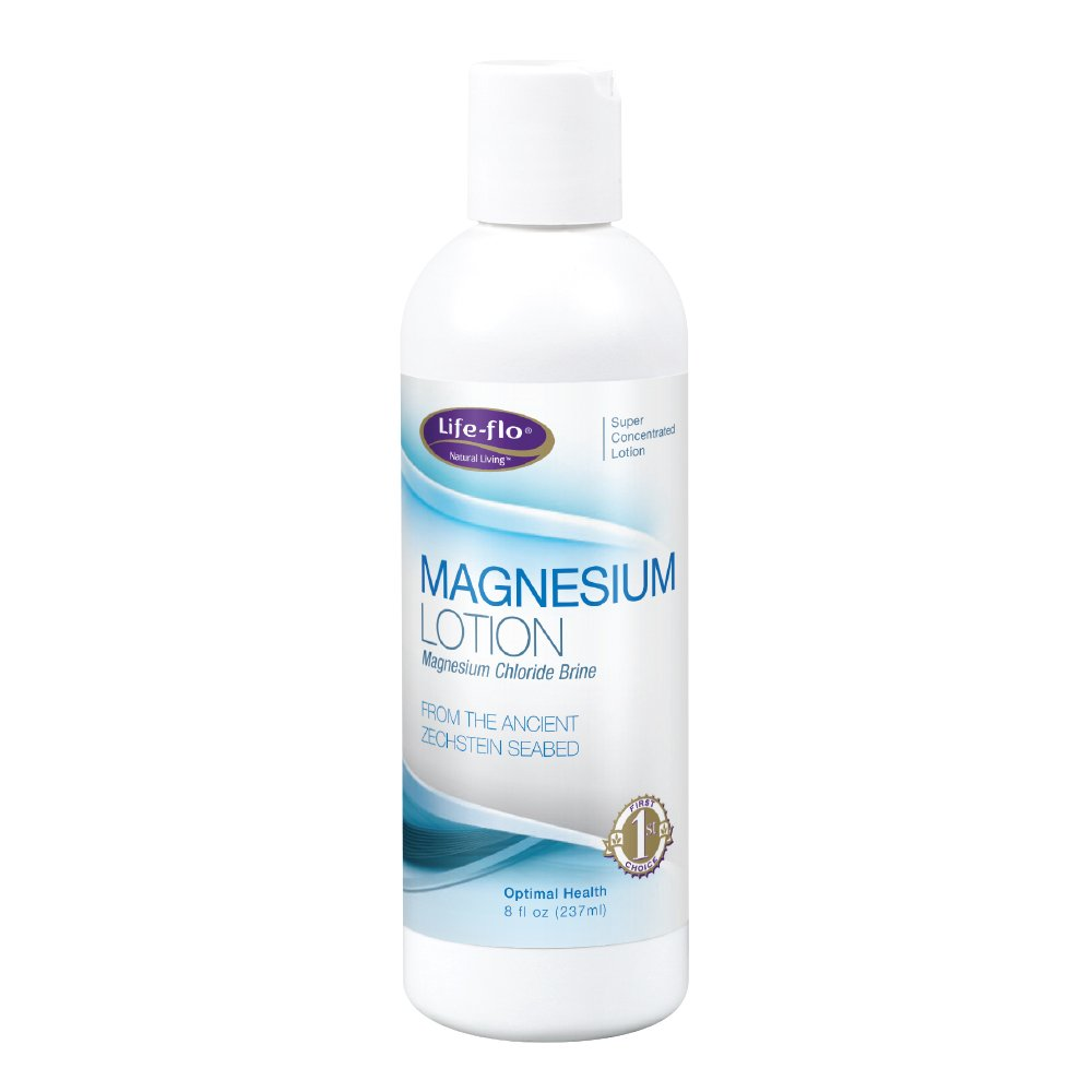 Life-Flo Magnesium Lotion | Magnesium Chloride Supplement Sourced from Zechstein Seabed | For Muscle Massage and Relaxation| 8 fl oz
