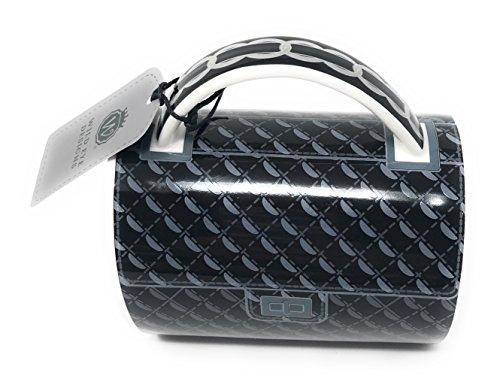 - Classic Quilted Tote Ceramic Designer Handbag Mug