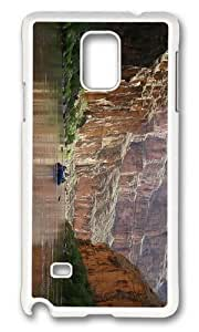 Adorable arizona canyons boat Hard Case Protective Shell Cell Phone For Case Samsung Note 3 Cover - PC White