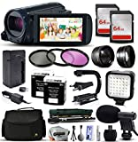 Canon VIXIA HF R62 HFR62 HD Camcorder Video Review and Comparison