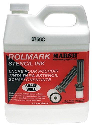 MARSH Rolmark Stencil Ink, 1 qt Can, - Marsh White Stores