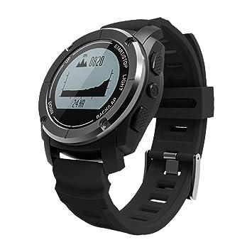 OOLIFENG Reloj Inteligente Incorporado GPS Pulsómetros Actividad Tracker Profesional Modos Deportivos Impermeable Digital Relojes Deportivos para Al Aire ...