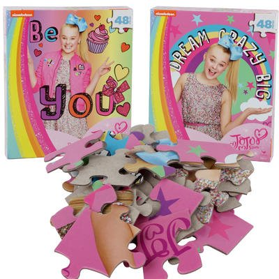 Nickelodeon Jojo Siwa Dream Crazy Big 48pc Puzzle - Set Of 2