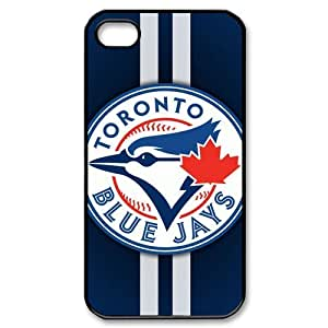 Design MLB Toronto Blue Jays Series For iphone 4 4s Hard Back Covers Protective Case(2)