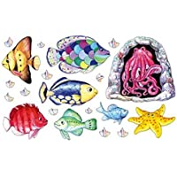 Fishy Tales Rainbow Fish Felt Figures for Flannelboard Stories- Precut & Ready to Use