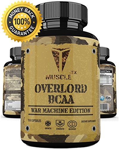 _ ANABOLIC_ Overlord BCAA_ Glutamine Capsules, BCAA Recovery Capsules for Men & Women - Bcaa Amino Acids - Bcaa Capsules - Glutamine Pills,Crossfit Supplements