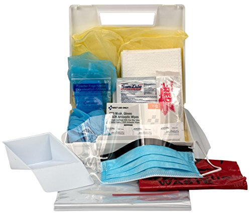 First Aid Only Bloodborne Pathogen Personal Protection Kit With 6 Pc. Cpr Pack, 31-Piece Kit