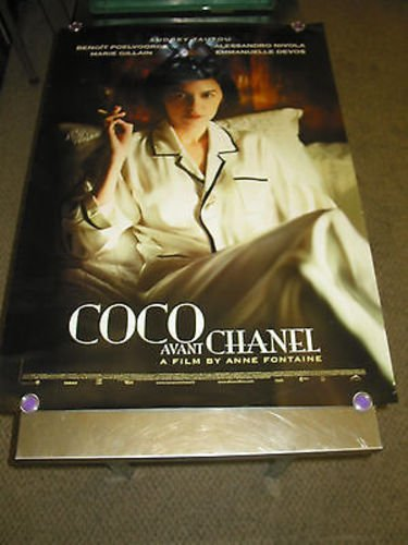 COCO BEFORE CHANEL /ORIG. U.S. ONE SH. MOVIE POSTER (AUDREY TAUTOU) - Store Chanel Us