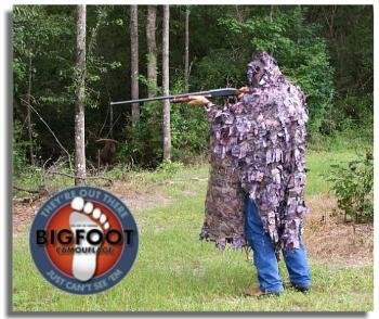 NEW Ghillie Suit Sniper Hunting Camo Camouflage by Bigfoot (Image #1)
